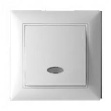 Выключатель одноклавишный с подсветкой TA  11-139