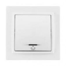 Выключатель кнопочный с подсветкой TA  10-104